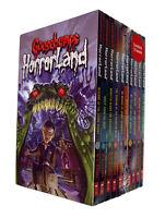 Goosebumps Horror Land 10 Book Pack R L Stein Children Spooky Scary Kids NEW