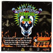 ROB ZOMBIE'S CARNIVAL OF SOULS HALLOWEEN HORROR NIGHTS TAKEOVER PROMO CD-ROM NEW