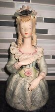 "Rare Cordey Figurine Large Bust 10"" VICTORIAN LACED DRESS COLLAR # 5037"