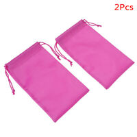2 Pcs Rose Red Yoga Resistance Band Bag Yoga Accessories_HC