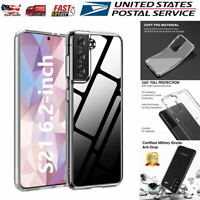 Shockproof Clear Case For Samsung Galaxy S21 Anti-Yellow Scratch-Resistant Cover