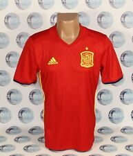 SPAIN NATIONAL TEAM 2016 2017 HOME FOOTBALL SOCCER SHIRT JERSEY CAMISETA MEN L