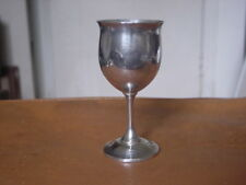 Vintage Reed and Barton Goblet .... H121 .... Sterling Silver
