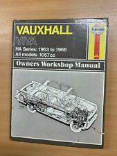 1971 VAUXHALL VIVA HA OWNERS WORKSHOP MANUAL HAYNES LARGE HARDBACK BOOK (P8)