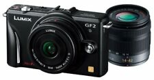 Panasonic Digital Single-Lens Camera Gf2 Double Lens Kit (14Mm / F2.5 Pancake Le
