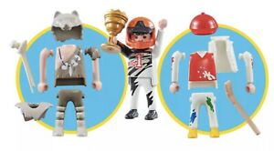 PLAYMOBIL 9854 Multiplay 3 in 1, Primitive, Pilot and Player NEW/SEALED Bag (6)