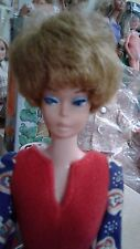 """ IDEA REGALO"" BARBIE VINTAGE BELLISSIMA BUBBLE CUT ORIGINALE CON ABITO VINTAGE"