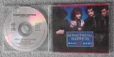 Something Happens - What Now? - Original UK 4 TRK CD Single