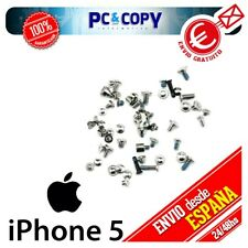 S351 Pack Set Kit Tornillos Completo para iphone 5 Negro Grafito iphone5 Pentalo