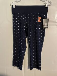 University of Illinois Fightining Illini womens Champion leggings sz Medium