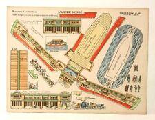 Pellerin Imagerie D'Epinal- 865 Noah's Ark/L'Arche de Noe M. vintage paper model