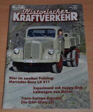 Historischer Kraftverkehr HIK 1/08 Mercedes Eicher DAF VW Bus Borgward B 511