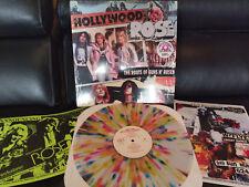 HOLLYWOOD ROSE - The Roots of Guns & Roses Splatter Vinyl LP Axl / Izzy Rocker