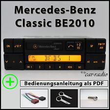 Original Mercedes Classic BE2010 Becker Radio din Radio Cassette A0038206286 Kit