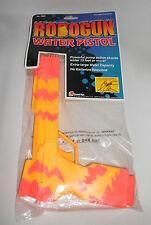 ROBOGUN WATER PISTOL SQUIRT GUN 1991 ROBOCOP NEVER OPENED COSTUME ORANGE/YELLOW