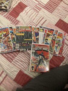 Secret Wars 1-12 -  Issue 8 - First Black Suit Spider-man