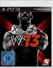 PLAYSTATION 3 Sony WWE 13 Wrestling tedesco OVP come nuovo