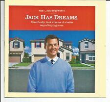 2003 Ebay Motors Jack Has Dreams Original Magazine Insert Print Ad Booklet