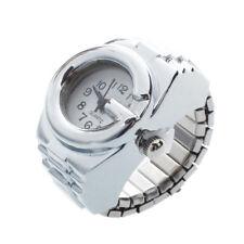 Orologio da Dito Anello al Quarzo Argento Numeri Arabi Moda K7K7
