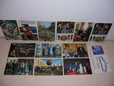 1970s THE JIMMY CARTER ADMINISTRATION INAUGURATION POSTCARD SET of 12 DIFF.