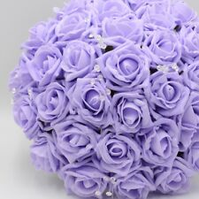 Artificial Wedding Flowers Silk Cake Topper Decoration in 68 Colours & Designs