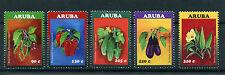 Aruba 2016 neuf sans charnière légumes 5v set sweet chili peppers concombres plantes timbres