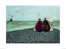 DOG ART PRINT The Same as It Ever Was Sam Toft 12x8