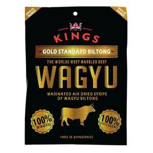 King's Wagyu Beef Biltong (16x25g)