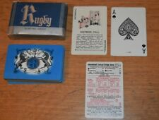 1939 Rugby Complete Deck Playing Cards - Crowned Lion, Unicorn & Coat of Arms