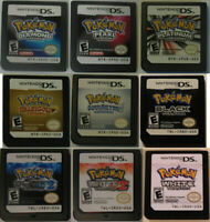 Soul Silver+Heart Gold For Nintendo 3DS NDS NDSI NDSL Lite Pokemon Game Card New