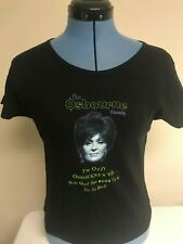 Sharon Osbourne New Medium Ozzy Wife Babydoll Shirt Shut Up The Osbournes