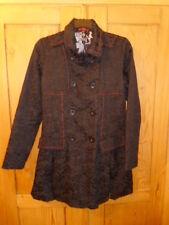 Desigual black coat, size 40 (12)
