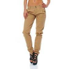 Pantalones de mujer chinos color principal beige