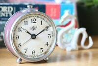 Alarm Clock Armenian Working Bedside Mechanical Desk Clock Vintage Wind Up Clock