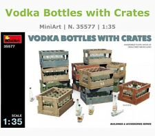 Mini Art 35577 1/35 Vodka Bottles With Crates Model Kit