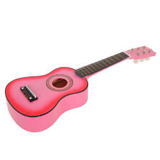 """21"""" Beginners Basswood Acoustic Guitar 6 String Practice Music Instrument"""