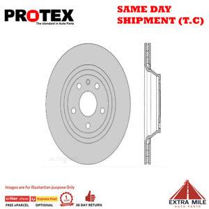 Protex Ultra Select Rear Rotor Pair For AUDI TT/TTS 2.0L