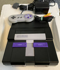 Super Nintendo Console: Painted Black (Tested and Working) Includes Controller
