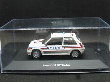 RENAULT 5 GT TURBO POLICE 1/43 ATLAS / IXO