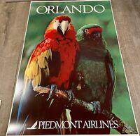 "Piedmont Airlines Orlando Poster 24"" x 36"""