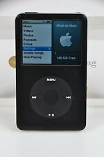 Black Apple iPod Classic 160Gb 6th Gen Perfect Hard Drive Exc+ Housing /Fedex