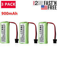 3PCS 900mAh Cordless Phone Battery for Uniden DECT 6.0 BT-1008 BT-1016 BT-1021