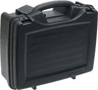 4 Gun Hard Carry Case Lockable Safe Storage Box Four Handgun Pistol Revolver