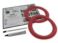 """CERWIN VEGA AT8 SPEAKER 8"""" Woofer Foam Edge Replacement Repair Kit # FSK-8AR"""