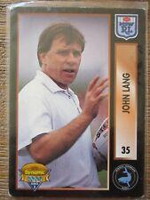 JOHN LANG-Sharks  NSW RL Collector card - 1994