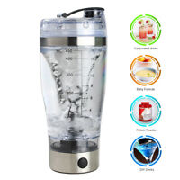Electric Protein Shaker Bottle Vortex Mixer Cup Portable Blender Drink Shake UK