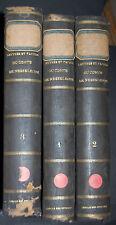 Lettres et papiers du comte de nesselrode 1760-1850  Tome 1-2-3
