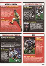 QPR/PLYMOUTH: PAUL WOTTON & G.AINSWORTH SIGNED A4 (12x8) BOOK/ANNUAL PICTURE+COA