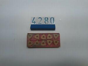 10 Sandvik Carbide Inserts WNMG 08 04 08-WF (4280)