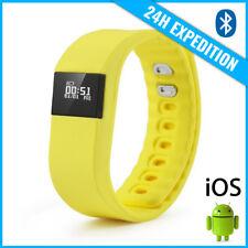 Original TW64 Smart Band Watch Sport Montre Horloge Bluetooth Android iOS Yellow